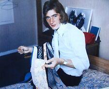 ALAN HUDSON clipping Chelsea FC soccer color photo 1970 kipper ties fashion
