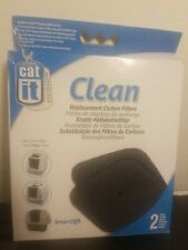 Cat It Clean Replacement Carbon Filters For Smart Sift Litter Boxes