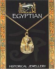 Tutankhamun Pendant Gold Plated - Egyptian Jewellery