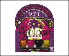 OPI So So Skullicious Nail Polish Set with Nail Decals