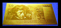 "★★★ BILLET POLYMER  "" OR "" DU 10 FRANCS BERLIOZ ● DESTOCKAGE ★★ REF1"