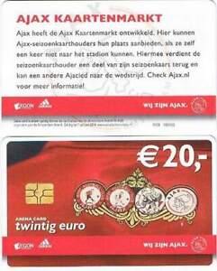 Arenakaart A126-02 20 euro: Wij zijn Ajax / Logo's