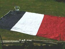 MARINE FRANCE - DRAPEAU PAVILLON GEANT  - taille n°6  - 5 x 7.50  METRES !!!!!!!