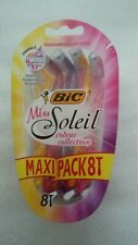 Bic Miss Soleil Colour Collection Maxi Pack 8 rasoirs