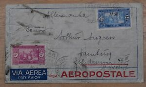 Mayfairstamps Senegal 1937 Dakara to Germany commercial Airmail Cover wwp72237