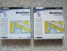 Garmin Bundle MapSource Bluechart Americas 5.5 & 6 with 25 Digit Passcode!
