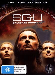 SG U: Stargate Universe - The Complete Series season 1 & 2 DVD Box Set R4