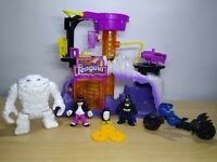 FISHER-PRICE DC SUPER FRIENDS BATMAN IMAGINEXT THE PENGUIN LAIR WHITE CLAYFACE.