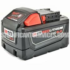 Milwaukee 48-11-1890 M18 FUEL REDLITHIUM HD 9.0 Ah Li-Ion Battery Pack