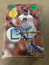 1996 Fleer E-XL Motion MLB Baseball Unopened SEALED Wax Box - 9 Packs Jeter?