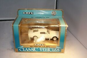 1968 Shelby GT 500 1/43 Scale ERTL Mint in Box Free Shipping