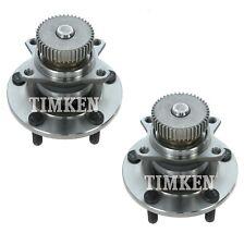 Pair Set of 2 Rear Timken Wheel Bearing and Hub Kit for Eagle Dodge Chrysler FWD
