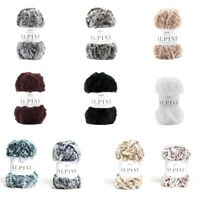 Sirdar Alpine Luxe Fur Effect Knitting Yarn Knit Craft 50g Ball Wool