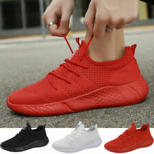 Knit Lace Up Casual Shoes for Men