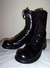 Vtg CORCORAN Red Label US ARMY Military COMBAT Motorcycle CAP TOE Jump BOOTS 9.5