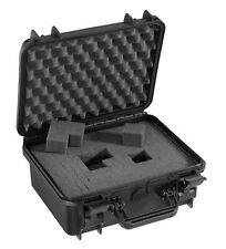 Waterproof Dustproof Medium Ip67 Rated Hard Protective Camera Case Cubed Foam Black