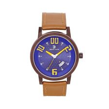 Ashton Carter Casual with Date Blue / Tan Watch - AC-1006-A- 2 Year MANUF WRNTY