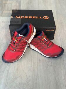 🆕Merrell Nova 2 GTX Mens Waterproof Gore-TexWalking Trainers Shoes Uk 8.5 Red
