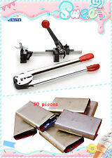 Strapping Tensioner/Cutter/Crimper/Banding Wrapping machine tool set Poly Strap