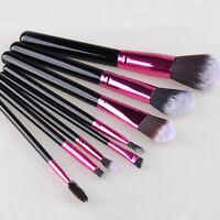 8X Profi Make up Pinsel Professionelle Kosmetik Brush Makeup Set NEU~