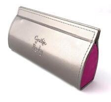 New Cynthia Rowley Eyeglasses Sunglasses Hard Case Silver/pink