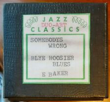 2 SONGS PB EDYTHE BAKER EXPRESSION ADDED DUO-ART RECUT REPRODUCING PIANO ROLL