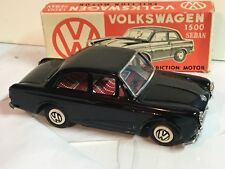 Ichimura Black VW Volkswagen 1500 Sedan Tin Friction Made Japan org box FREE SH