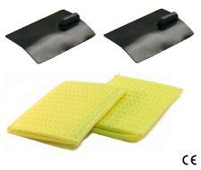 ^ Sy 2 Electrodes Rubber 60x85mm 2 Sponge Pocket Iontophoresis Stimulator Tens
