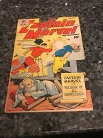 CAPTAIN MARVEL ADVENTURES #93 see my other golden age comic!!!