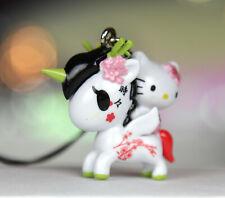 RARE Tokidoki x Hello Kitty Frenzies Sakura Unicorno Sanrio Keychain Phone Charm