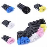 50Pcs Disposable Mascara Wands Brush Makeup Eyelash Brushes Lash Extension