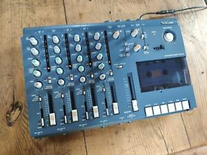 Tascam 414 Mkii Four Track Cassette Recorder Tested Working