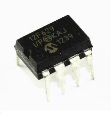 2PCS PIC12F629-I/P PIC12F629 MICROCHIP DIP-8 MCU CMOS 8BIT 1K FLASH