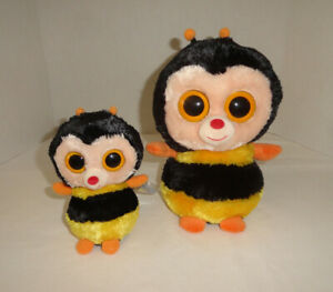 2 Ty Beanie Boo's Sting The Bee's
