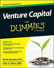 Venture Capital For Dummies by Adams, Peter K Gravagna, Nicole, NEW Book, FREE