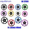 JOCKEY WHEEL 11T WITH SEALED BEARING SHIMANO SRAM ALLOY REAR DERAILLEUR PULLEY