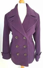 Wool Blend Formal Double Breasted Coats & Jackets for Women