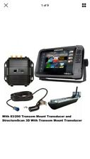 NEW Lowrance HDS-12 Gen3 83-200 Transom Mount Transducer and StructureScan 3d