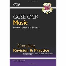 New GCSE Music OCR Complete Revision & Practice (with Audio CD) - For the Grade 9-1 Course by CGP Books (Paperback, 2016)