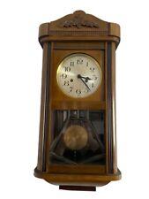 Antico Orologio Pendolo A Parete - Funzionante