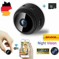 Mini WIFI IP Kamera WLAN Webcam Überwachungskamera Nachtsicht HD1080P Camera DE