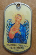 RUSSIAN DOG TAG PENDANT MEDAL  icon   ARCHANGEL ANGEL