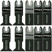 10 Quick Release Oscillating Tool Blades - Rigid Job Max  Compatible