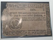 South Carolina Colonial Currency 1776 Note