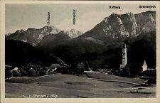 Pfronten im Allgäu Ansichtskarte ~1930 Panorama mit Brentenjoch Roßberg Schlicke