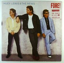 """12"""" LP - Huey Lewis And The News - Fore! - #L7590 - washed & cleaned"""