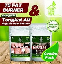 Tongkat Ali & Fat Burner Fitness Combo:Weight loss, Testosteron, Libido Booster