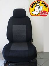 Black fabric Seat covers Fit all Ford Territory 7 seater-model Full Set