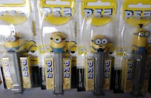 Rise of Gru Minion Pez Dispenser Kevin Stuart Bob or Otto MOC