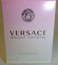Versace Bright Crystal 0.17oz  Women's Eau de Toilette Mini Fragrance For Her